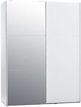 JYSK Armario TARP 151x201 con espejo blanco