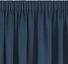 JYSK Cortina AUSTRA 1x140x300 terciopelo azul