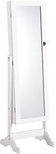 JYSK Espejo con armario LONE 145x42 blanco