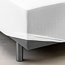 JYSK Sábana ajust imperm. 90x200x20cm blanco