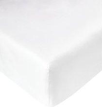 JYSK Sábana ajust percal 90x200x28cm blanco