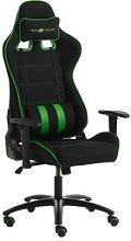 JYSK Silla gaming LAMDRUP negro/verde