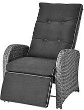 JYSK Sillón reclinable COLOMBO gris
