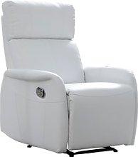 JYSK Sillón reclinable RISSKOV blanco