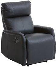JYSK Sillón reclinable VEJEN negro