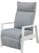 JYSK Sillón reclinable VONGE blanco
