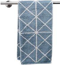 JYSK Toalla de baño GRAPHIC azul empolvado