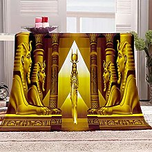JYSZSD Mantas para sofá de flanela Faraón