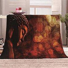 JYSZSD Mantas para sofá de flanela Zen Mantas