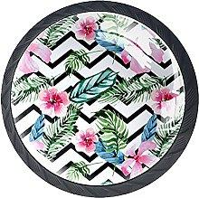 KAMEARI Diseño moderno con flores de acuarela