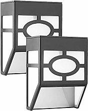 Kansang 2 lámparas solares para exterior de
