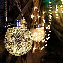Kansang Lámpara solar LED colgante – para