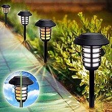 Kansang Lámpara solar para césped, decoración