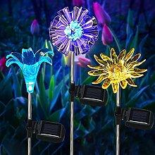 Kansang Luces solares de jardín al aire libre, 3
