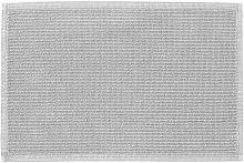 Kave Home - Alfombra de baño Miekki gris claro