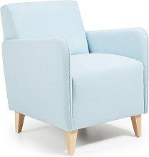 Kave Home - Butaca Arck azul