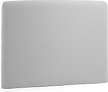 Kave Home - Cabecero Dyla gris 108 x 76 cm