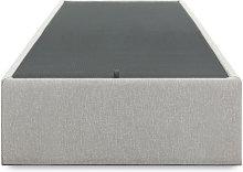 Kave Home - Canapé abatible Matters gris 90 x 190