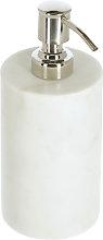 Kave Home - Dispensador de jabón Elenei de mármol