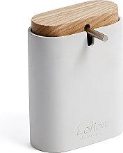 Kave Home - Dispensador de jabón Elora blanco y