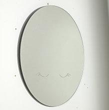 Kave Home - Espejo de pared redondo Ludmila luna