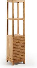 Kave Home - Estantería de baño Kuveni de madera