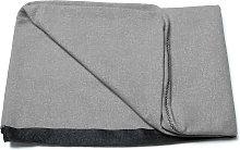 Kave Home - Funda cabecero Dyla gris 178 x 76 cm