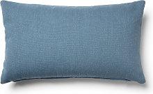 Kave Home - Funda cojín Kam 30 x 50 cm azul