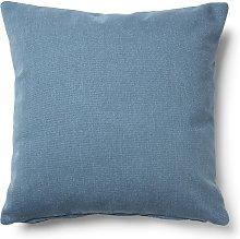 Kave Home - Funda cojín Kam 45 x 45 cm azul