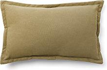 Kave Home - Funda cojín Lisette 30 x 50 cm marrón