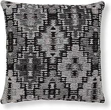 Kave Home - Funda cojín Nazca 45 x 45 cm gris