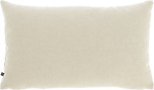 Kave Home - Funda cojín Nedra 30 x 50 cm beige