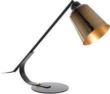 Kave Home - Lámpara de mesa Anina de metal