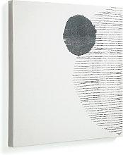 Kave Home - Lienzo grande Prism 50 x 50 cm fondo