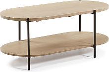 Kave Home - Mesa de centro Palmia 110 x 55 cm