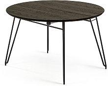 Kave Home - Mesa extensible redonda Milian Ø 120