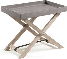 Kave Home - Mesa plegable Merida 55 x 35 cm