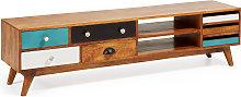 Kave Home - Mueble TV Conrad 160 x 41 cm de madera