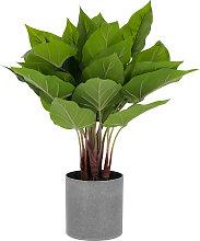 Kave Home - Planta artificial Anthurium con maceta