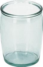 Kave Home - Portacepillos Trella de vidrio