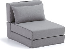 Kave Home - Puf cama Arty 70 x 89 (200) cm gris
