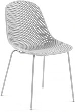 Kave Home - Silla Quinby blanco