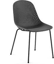 Kave Home - Silla Quinby gris