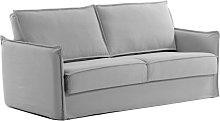 Kave Home - Sofá cama Samsa 160 cm visco gris