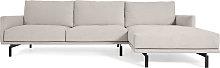 Kave Home - Sofá Galene 4 plazas con chaise