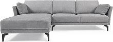 Kave Home - Sofá Gilma 3 plazas con chaise longue