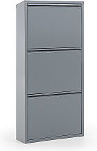 Kave Home - Zapatero Ode 50 x 103 cm 3 puertas gris