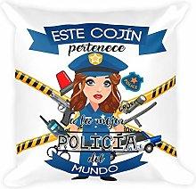 Kembilove Cojín Decorativo de la Mejor Policía