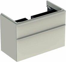 Keramag - Mueble de tocador Geberit Smyle Square,