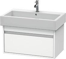 Ketho Mueble lavabo de pared 6687, 1 extraíble,